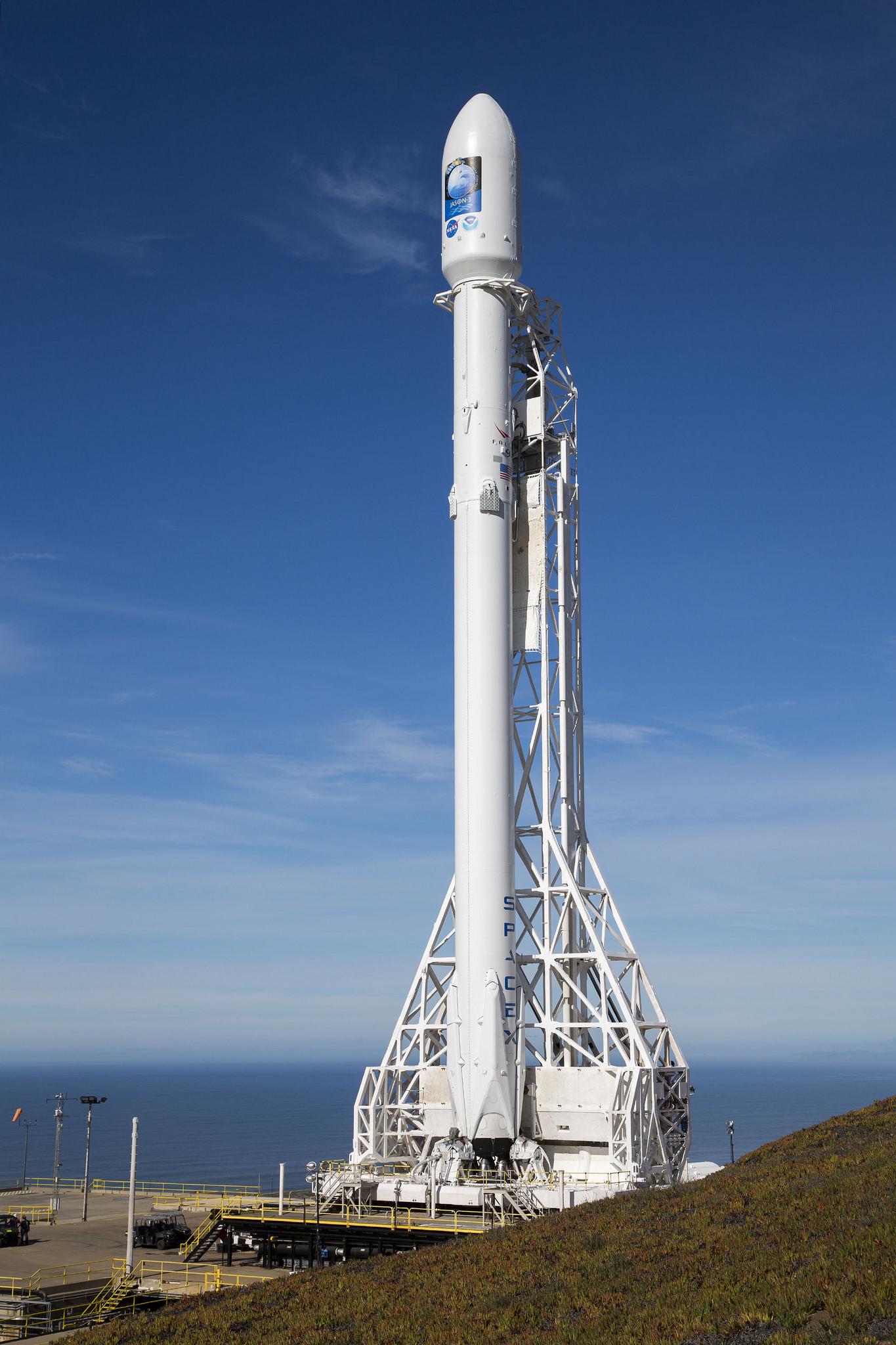 Falcon 9 for Jason 3