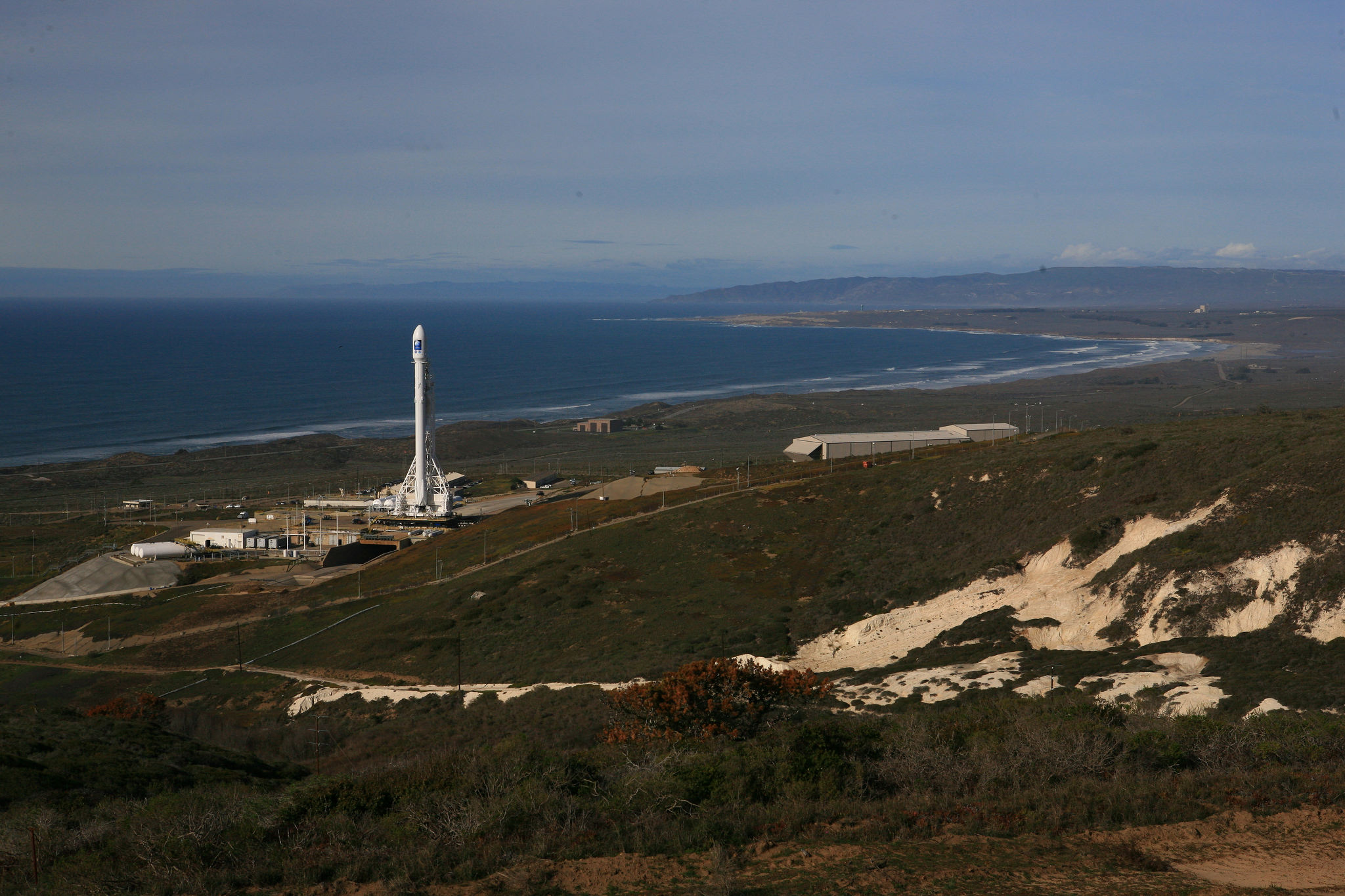 SpaceX's California Launch Pad