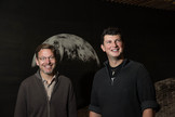 """Caltech professor Mike Brown and assistant professor Konstanin Batygin worked together to predict the existence of """"Planet Nine,"""" a massive body orbiting the sun beyond Neptune."""