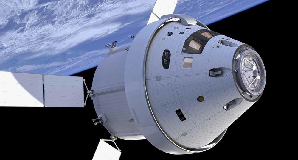 Artist's Illustration of NASA's Orion Crew Capsule