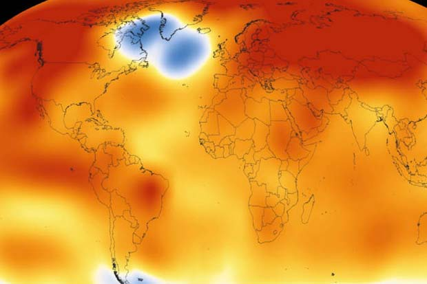 Watch Earth Get Hotter - 135 Years Of Temperature Changes Visualized