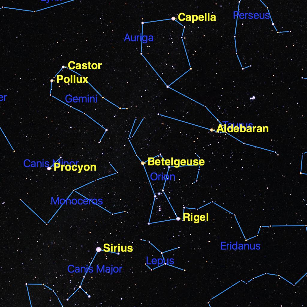 Southern Sky Orion