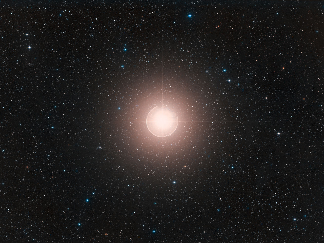Direct-sky Image of Betelgeuse