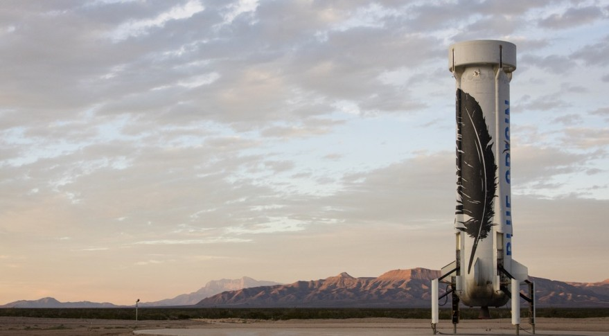 Airspace Restriction Hints at Blue Origin Test Flight