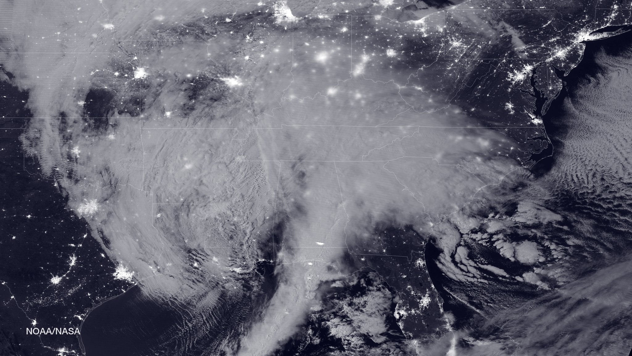 Winter Storm Views from Space: See the Latest Satellite Images