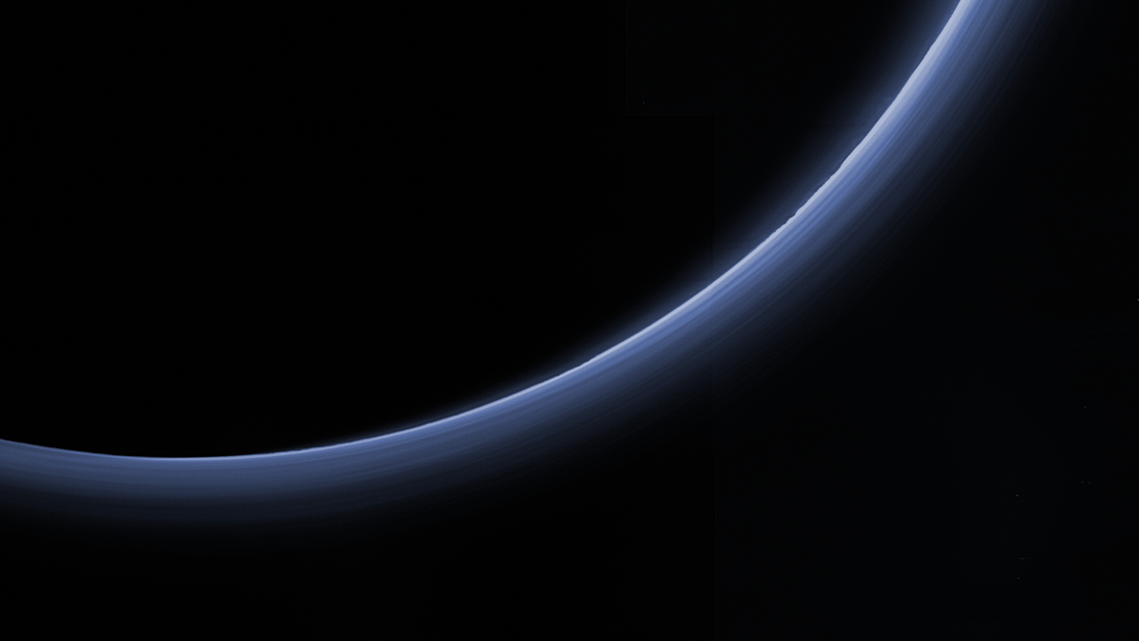Pluto's Blue Bands Get High-Resolution Makeover