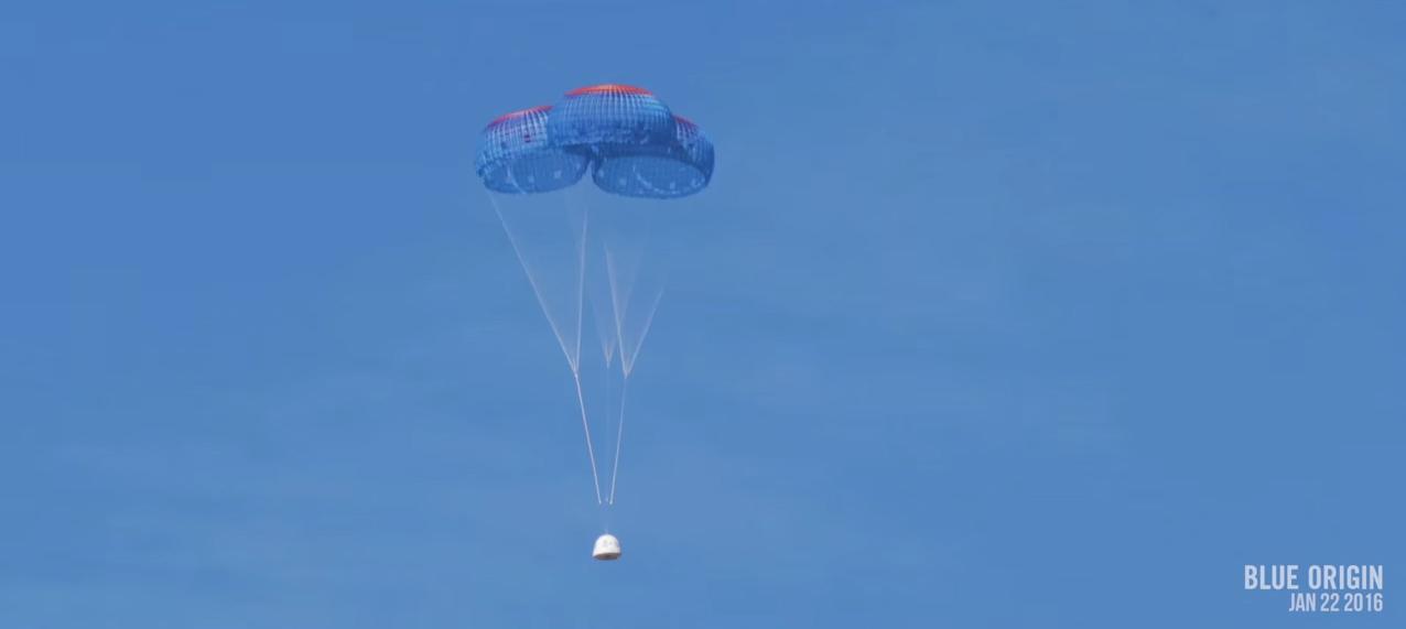 Main Parachutes Deploy