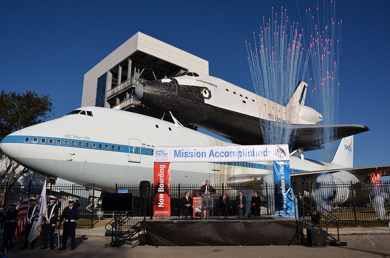 Mission Accomplished! 747-Space Shuttle Exhibit Launches in Houston
