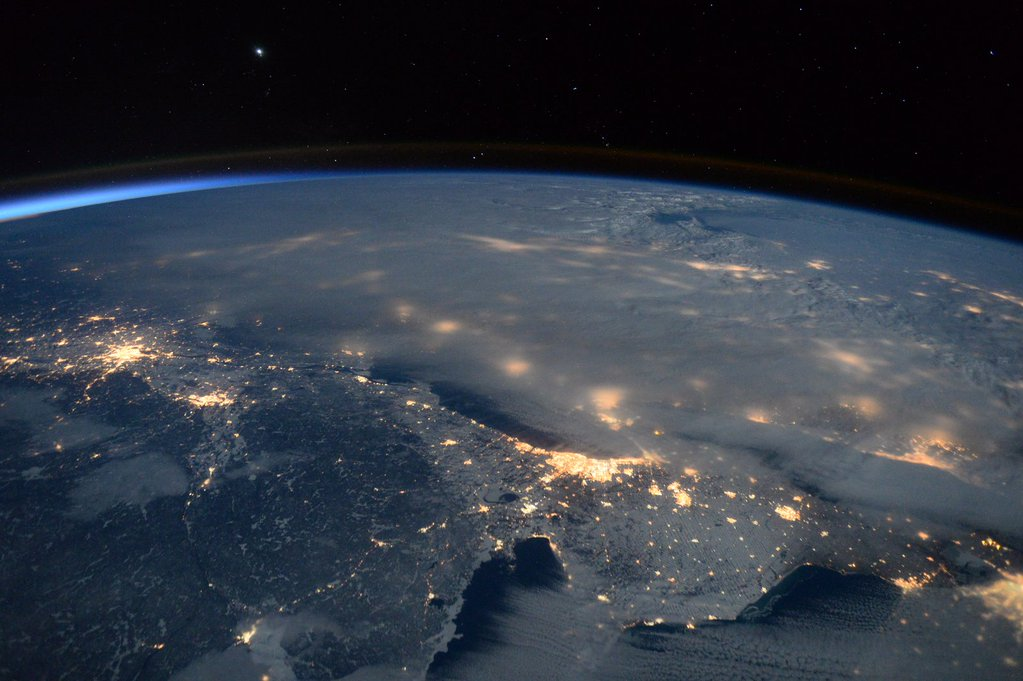 Blizzard of 2016 by Scott Kelly