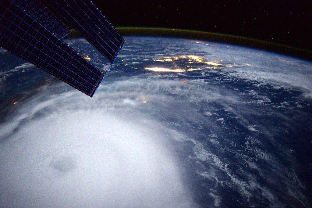 Hurricane Joaquin by Scott Kelly
