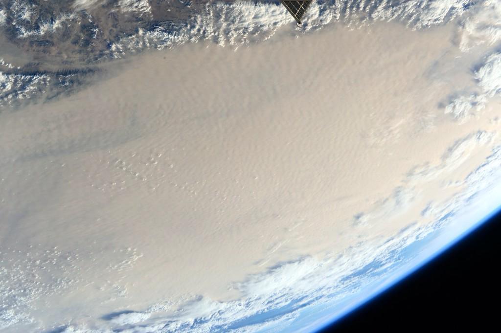 Dust Storm Over Gobi Desert by Kelly