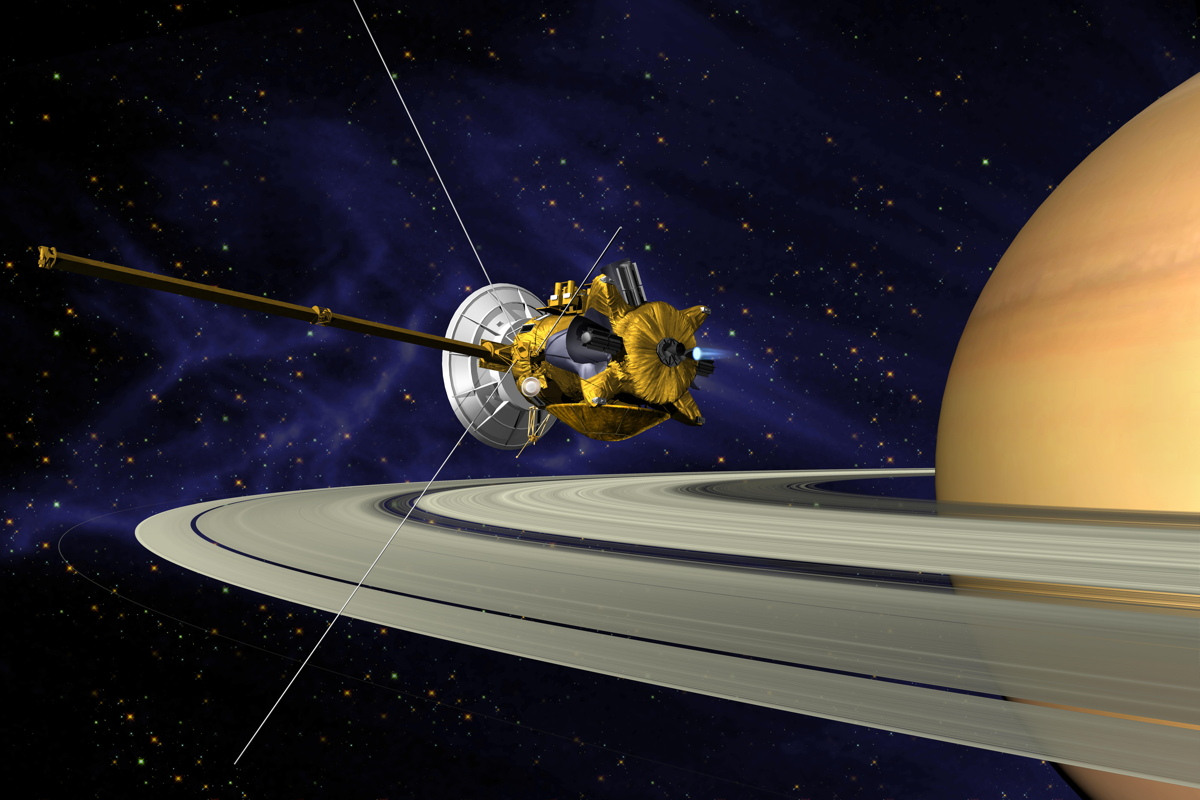 At Saturn, Cassini Spacecraft Adjusts Orbit for Titan-ic 'Grand Finale'