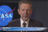 Jim Green is the Director of Planetary Science at NASA