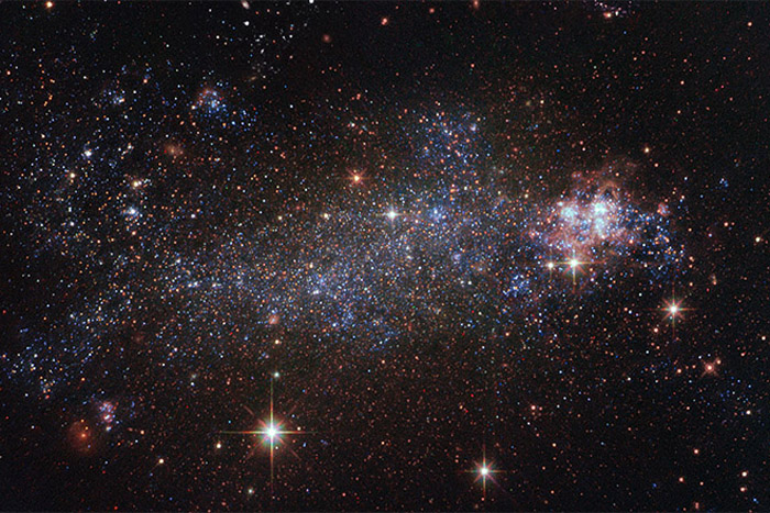 Hubble Spies on a Beautifully Messed-Up Galaxy