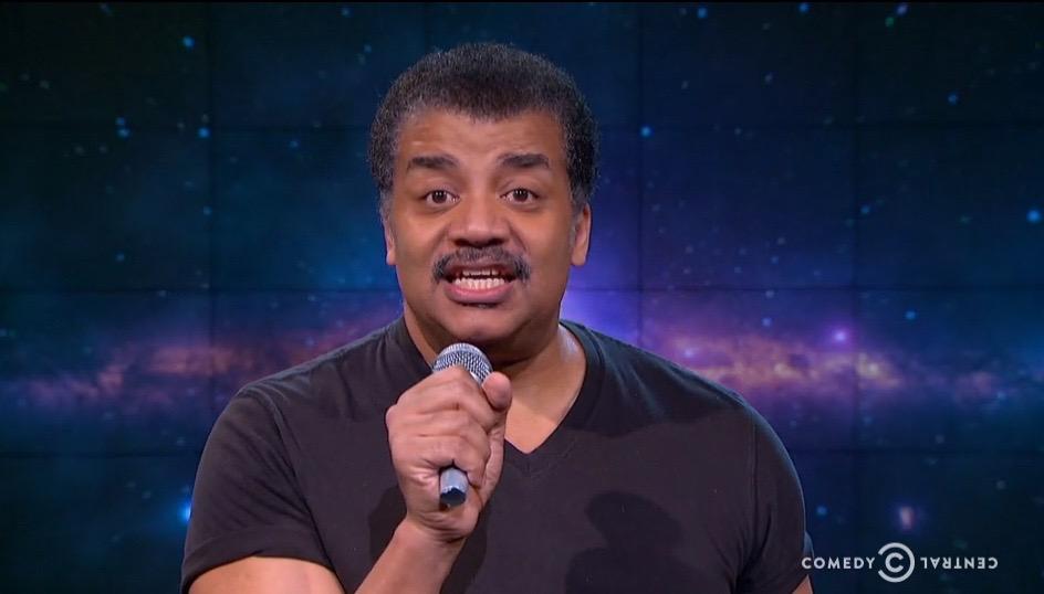 Boom! Watch Neil deGrasse Tyson Drop Mic on B.o.B's Flat-Earth Theory (Video)