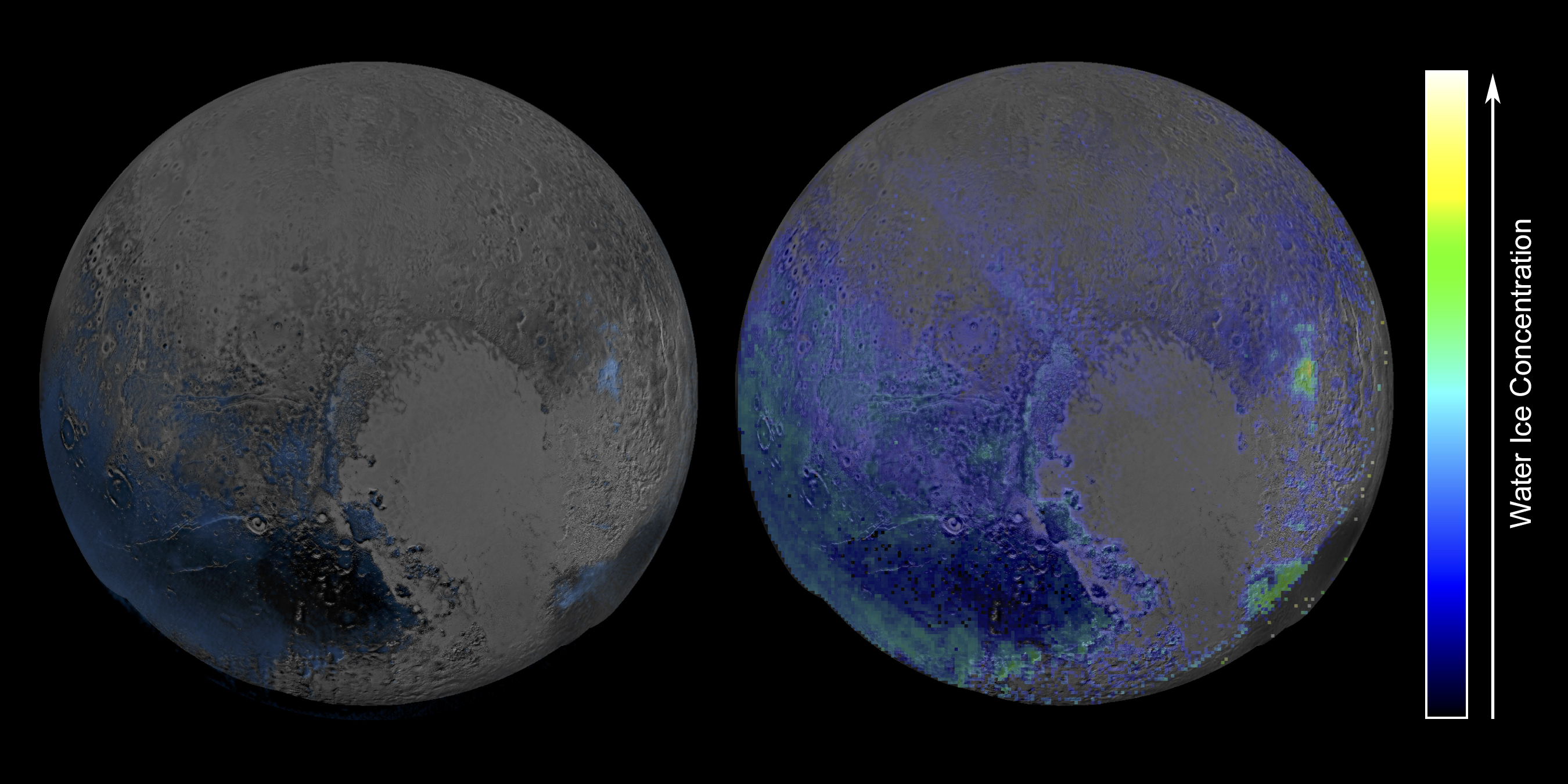Pluto's Surface Has a Surprising Amount of Water Ice (Photo)