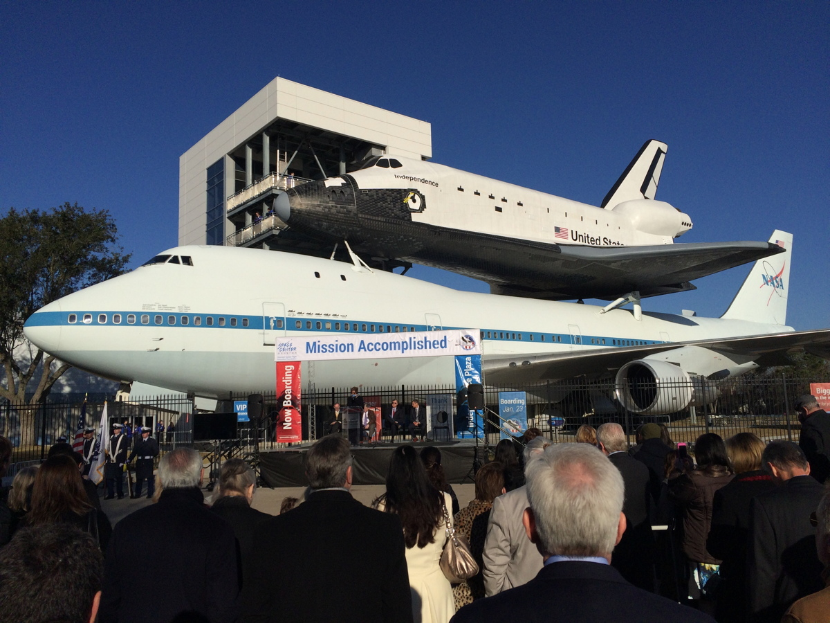 Seeing Is Believing: Enormous Shuttle Program Artifact Inspires Wonder