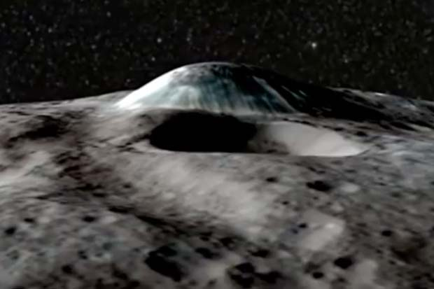 Trippy Trip Over Colorful Dwarf Planet Ceres | Video