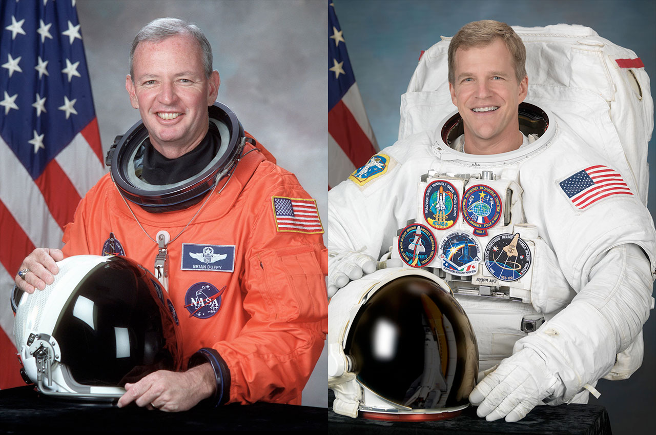 Shuttle Commander, Spacewalker to Enter Astronaut Hall of Fame