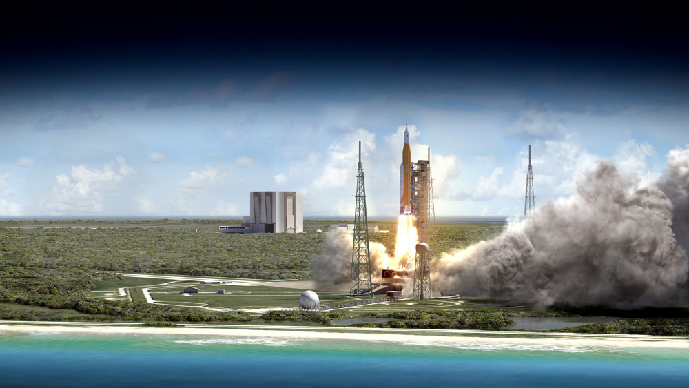NASA's Space Launch System conception