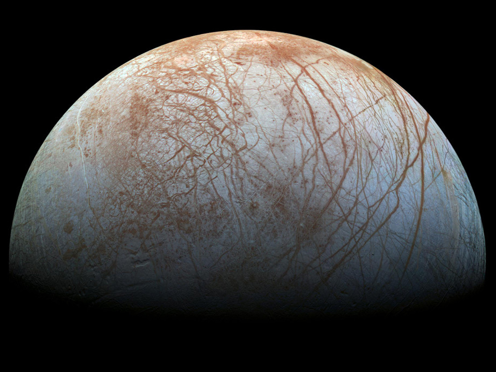 A New Look at Europa | Space Wallpaper