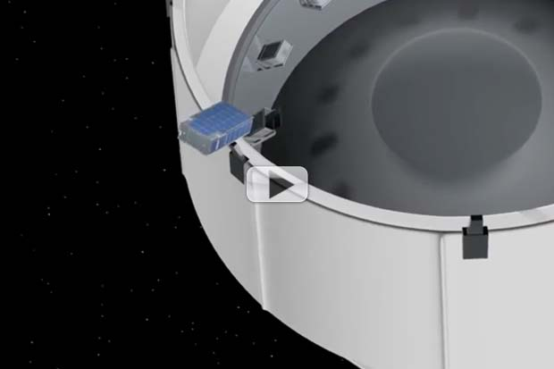 CubeSats Will Swarm NASA's SLS First Flight | Video