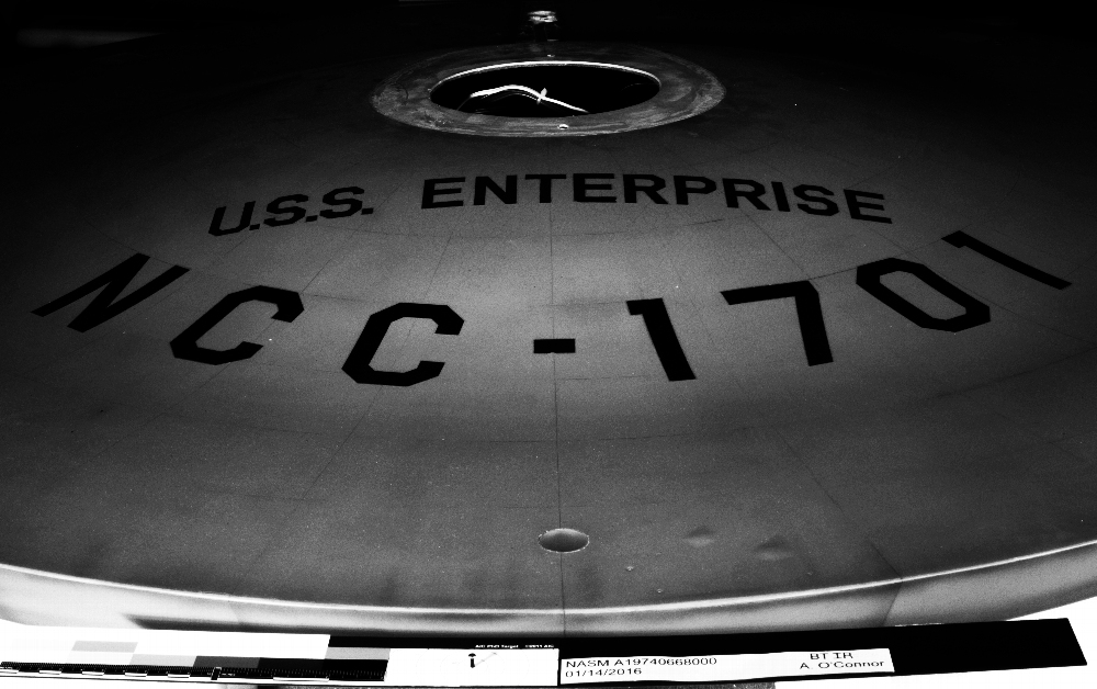 The Restoration of Star Trek's USS Enterprise in Pictures