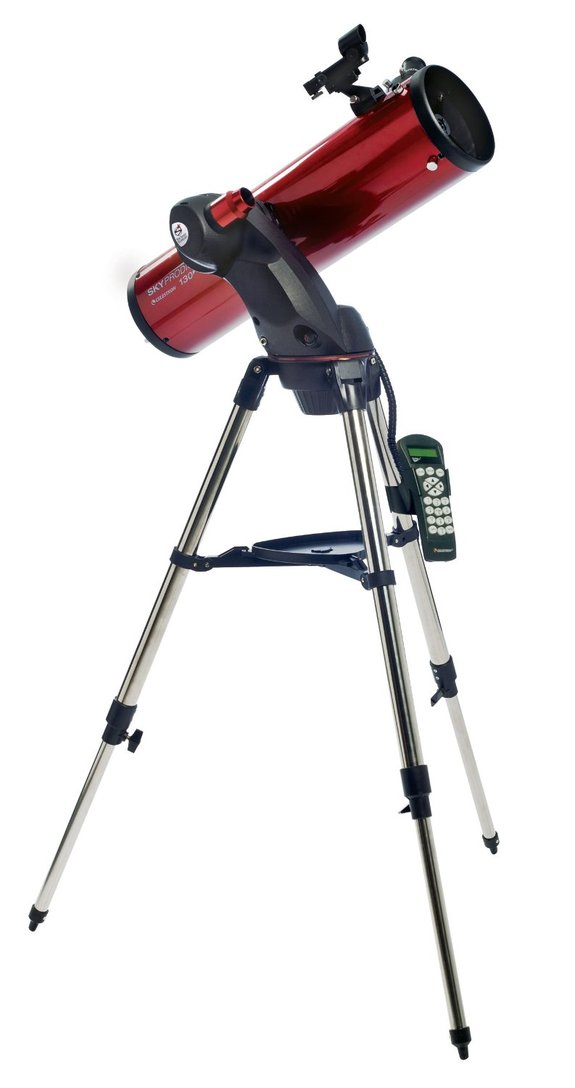 "This telescope aligns itself to the stars in just 3 minutes and brings a lot of power and clarity to the table, letting beginners and experts alike lose themselves in the cosmos. <a href=""http://www.amazon.com/dp/B004VSQ7HW?tag=space041-20&ascsubtag=[sitespace[catNA[art27791[pidB004VSQ7HWNA[bbcmanual"" rel=""nofollow"" target=""_blank"">Celestron SkyProdigy 130</a>"