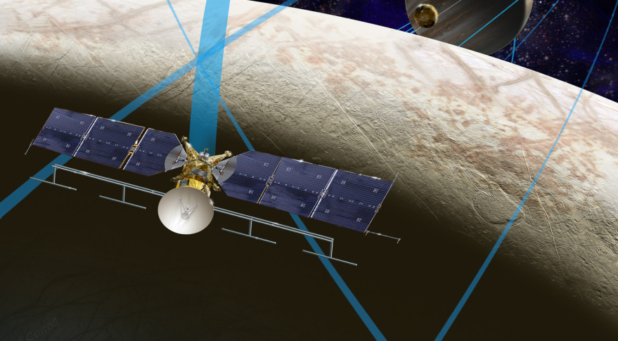 Dual Launches of Europa Flyby Probe and Lander? (space.com)
