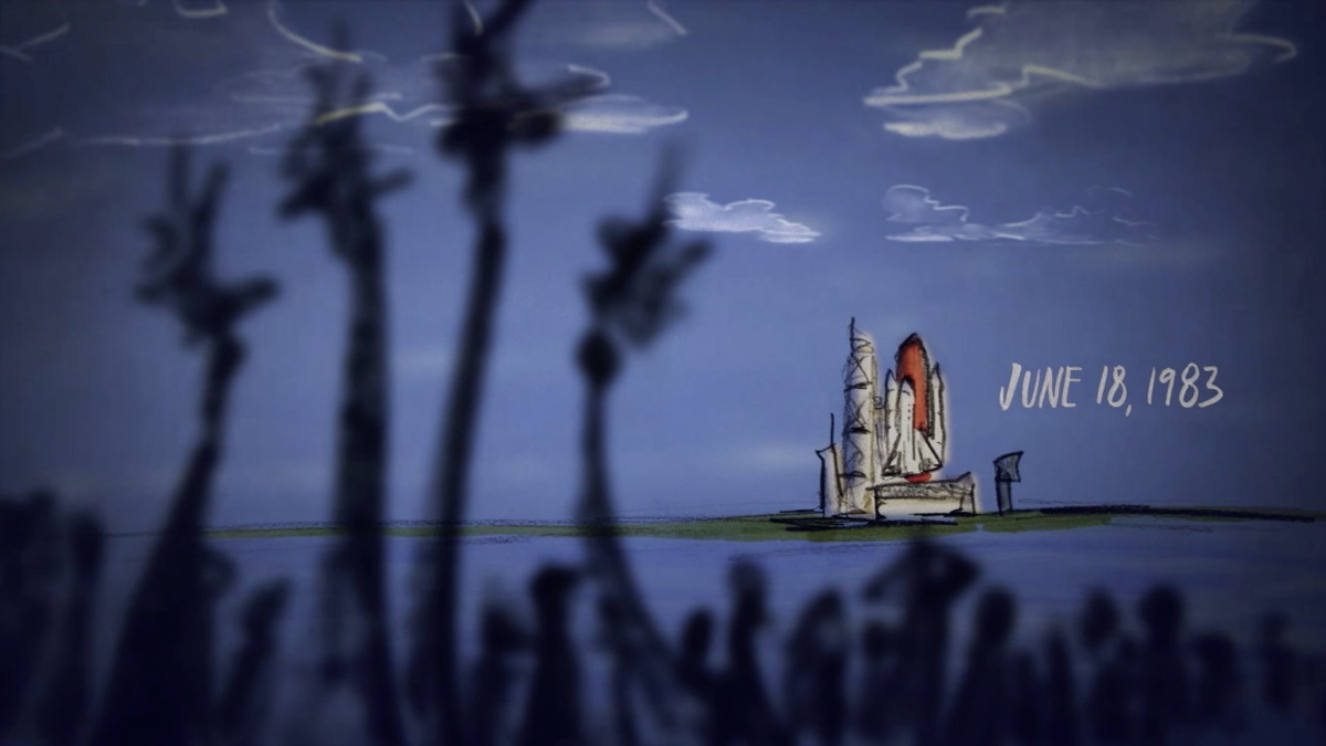 Sally Ride Talks Space in Dazzling Animated Interview