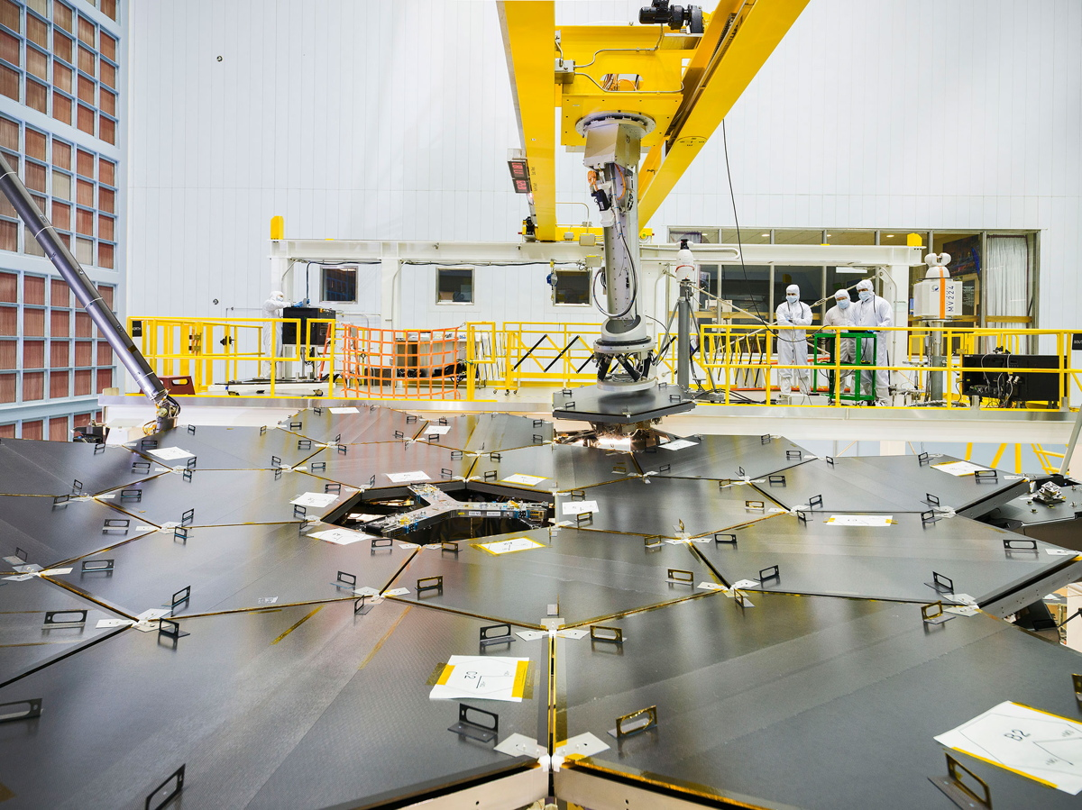 Mirror Installation Complete for NASA's Next Space Telescope