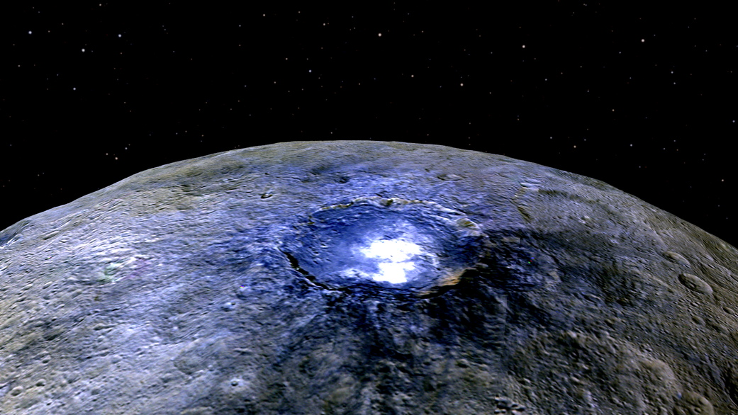 Dwarf Planet Ceres Still Stuns, 215 Years After Discovery