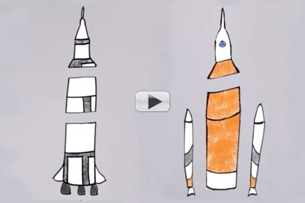 Saturn V vs. SLS - Both Old Tech | Video