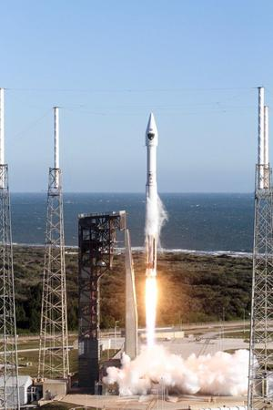 The Atlas V rocket carrying the IIF-12 GPS satellite had a successful launch on Feb. 5, 2016.