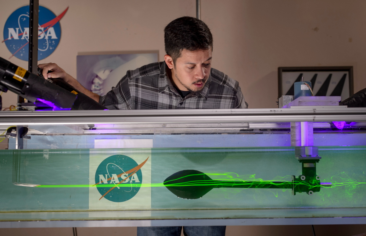 Where the Super Bowl Meets Space: NASA's Aerodynamics Lab
