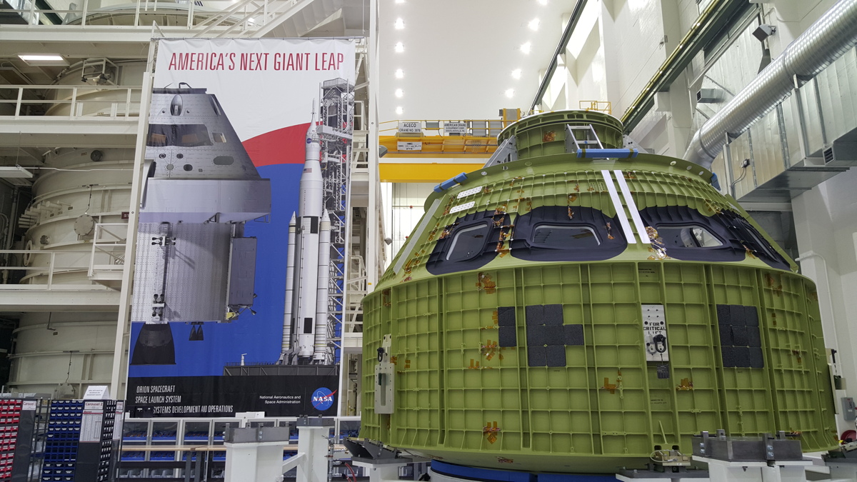 NASA's Orion Crew Module Arrives in Florida to Prep for 2018 Flight
