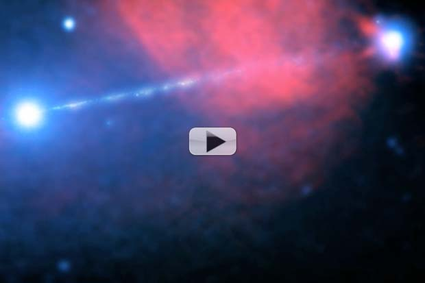 Supermassive Black Hole's 'Death Star' X-Ray Beam Snapped By Space Telescope | Video