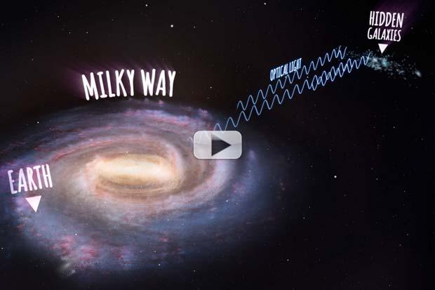 Radio Telescope Reveals Hundreds Of Hidden Galaxies Behind Milky Way's Haze | Video
