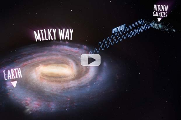 Radio Telescope Reveals Hundreds Of Hidden Galaxies Behind Milky Way's Haze | Video