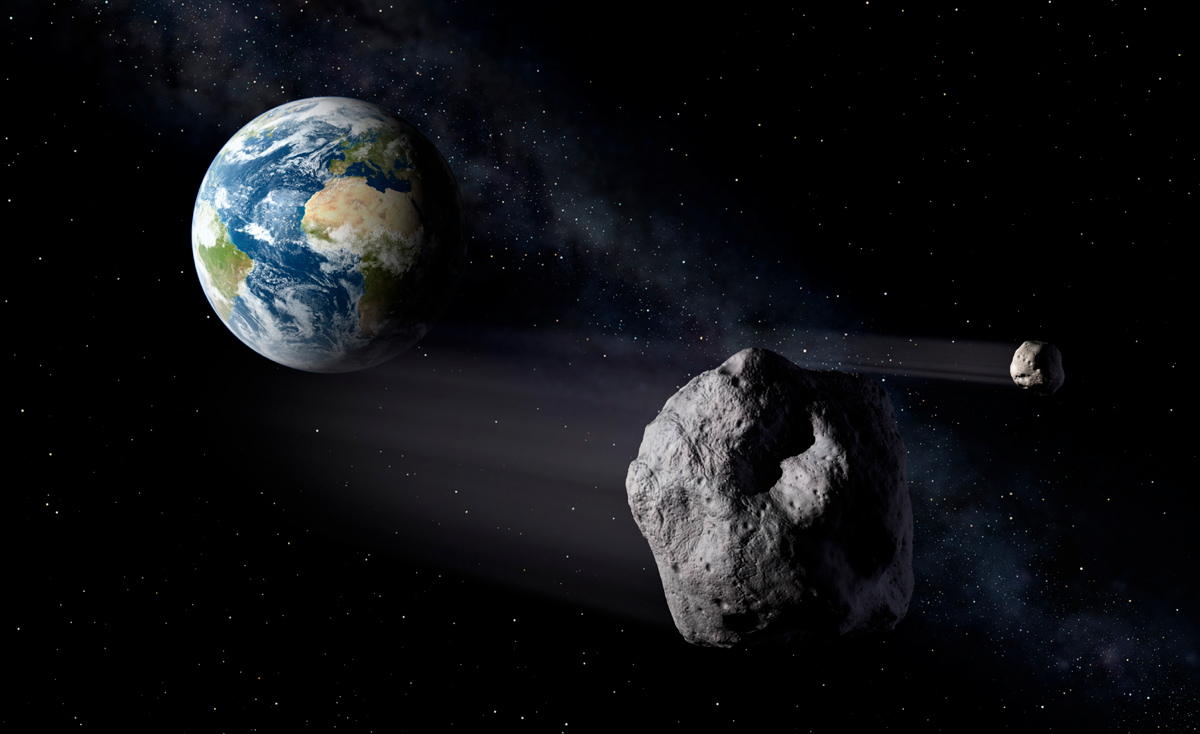 Medium-Size Asteroid Strike Could Unleash a Mini Ice Age