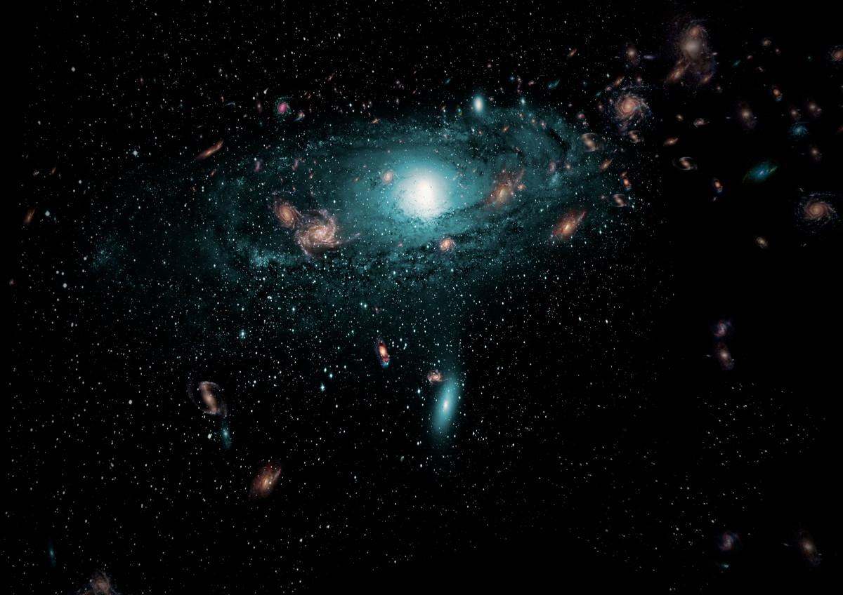 Hundreds of Hidden Galaxies Glimpsed Behind Milky Way (Video)