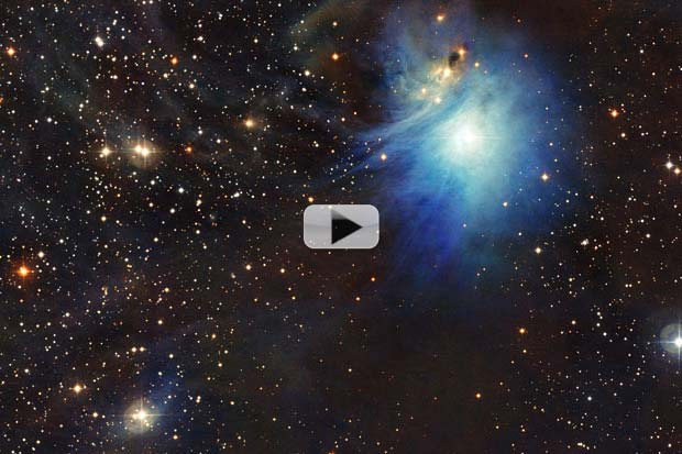 'Cosmic Clouds' Lit Up By New Star | Video