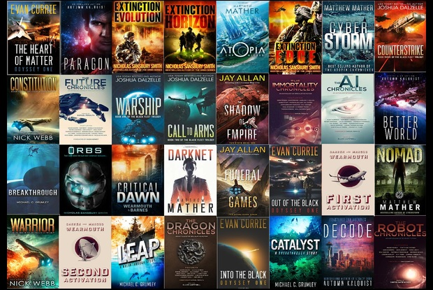 Sci-Fi Authors' Website Offers Free Gifts for Readers