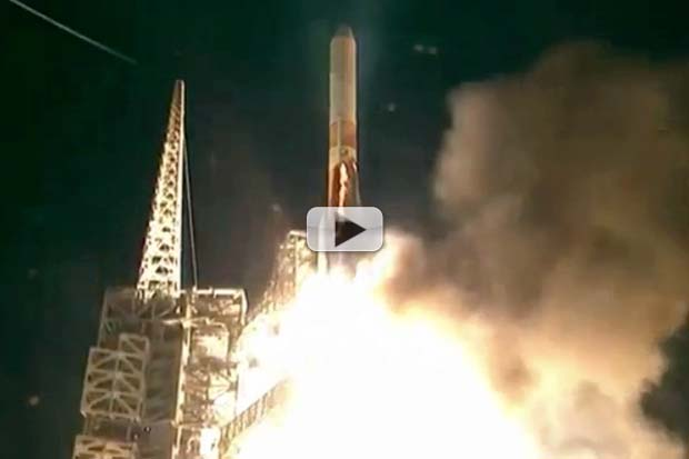 U.S. Radar Spy-Sat Launches Into 'Backwards' Orbit | Video
