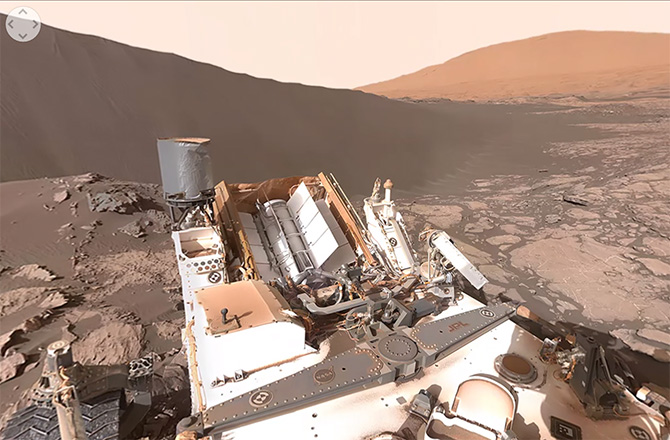 Get Immersed in Curiosity's 360 Degree Mars Dune