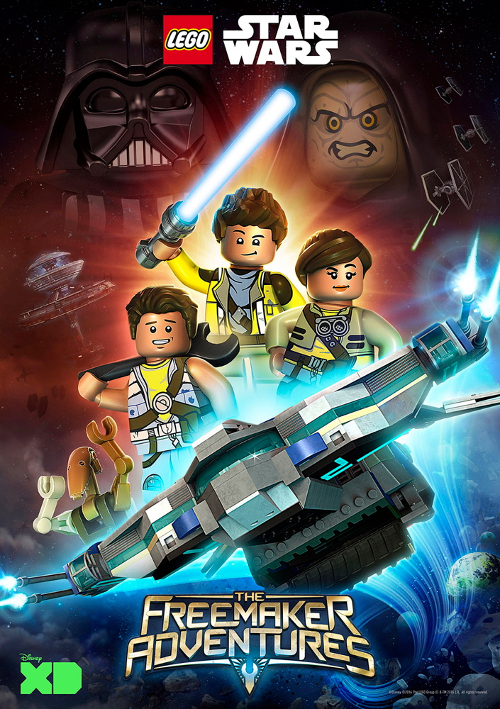 New STAR WARS TV Series Coming ... in LEGO