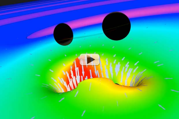 Stirred, Not Shaken - How Colliding Black Holes Make Waves | Video
