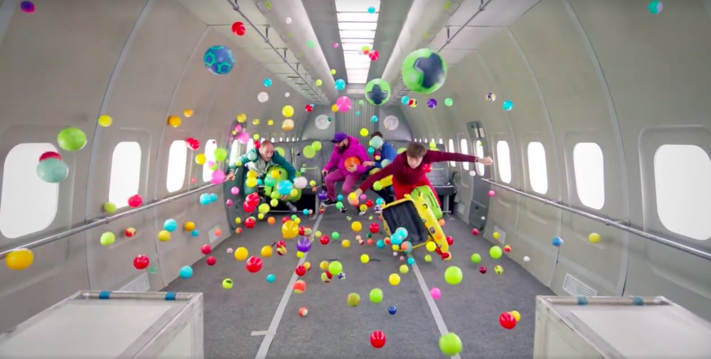 OK Go's Zero-G Music Video
