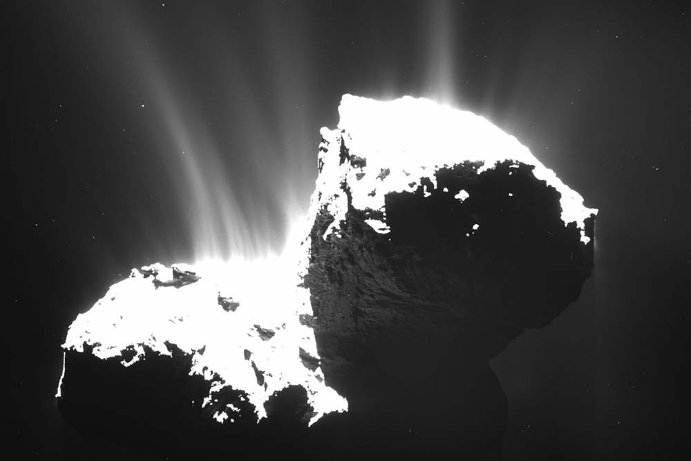 Comet Tails, Comas and Nuclei, Oh My | Space Wallpaper
