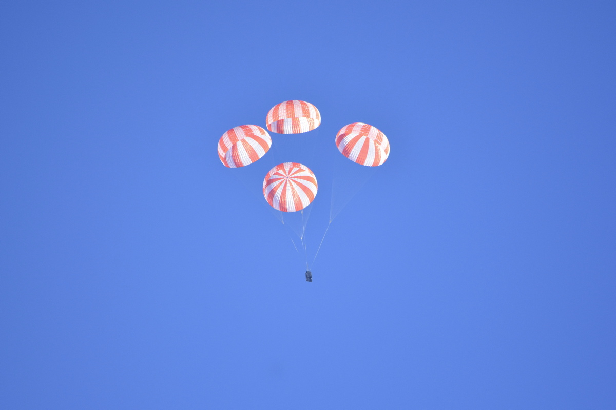 SpaceX Parachute Test